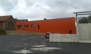 Nouveaux ateliers Municipaux de Ingwiller ( livrés en 2015 )