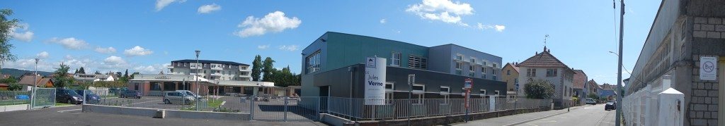 Panoramique du CFA Jules Verne à Saverne