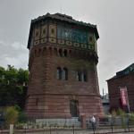 Extérieur du Chateau d'eau converti en musée Vodou ( Image Google Street View )
